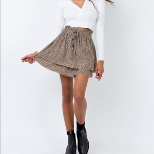 Princess Polly floral skirt